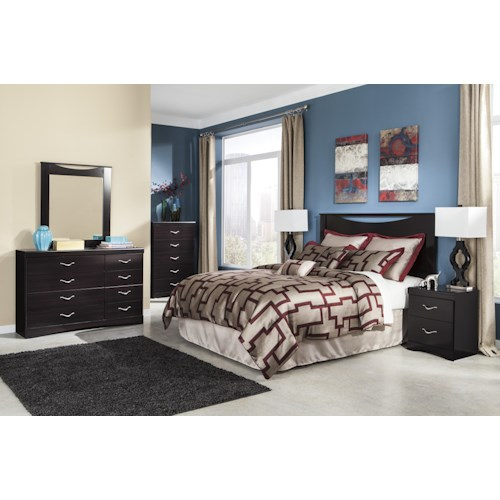 Signature Design By Ashley Zanbury Queen Full Bedroom