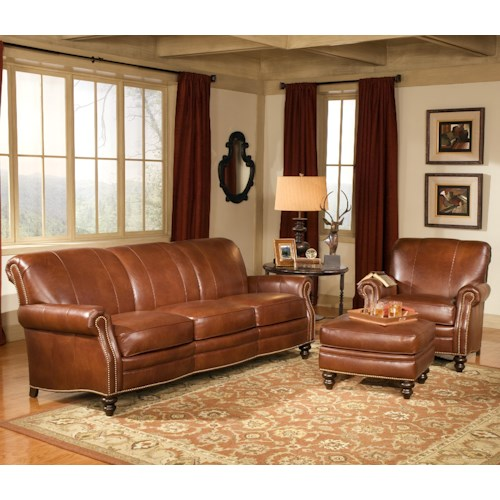 Smith Brothers 383 Stationary Living Room Group Wayside