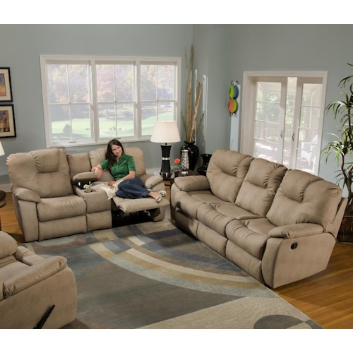 Southern Living Furniture Collection: Southern Motion Avalon Reclining Living Room Group