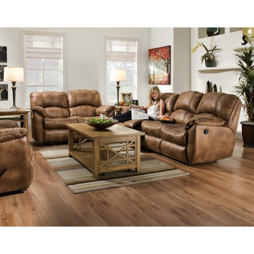 Southern Motion Weston Reclining Living Room Group