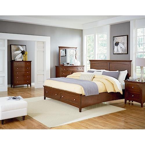 home bedroom group standard furniture cooperstown queen bedroom group