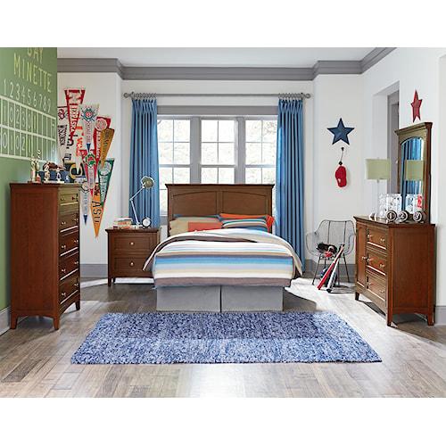 Standard Furniture Cooperstown Full Bedroom Group Standard Furniture Bedroom Group