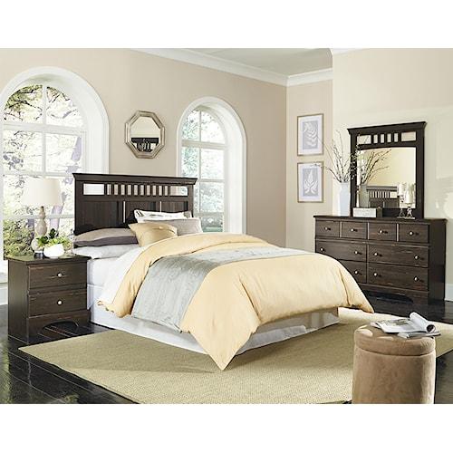 Standard Furniture Hampton Full Queen Bedroom Group Standard Furniture Bedroom Group