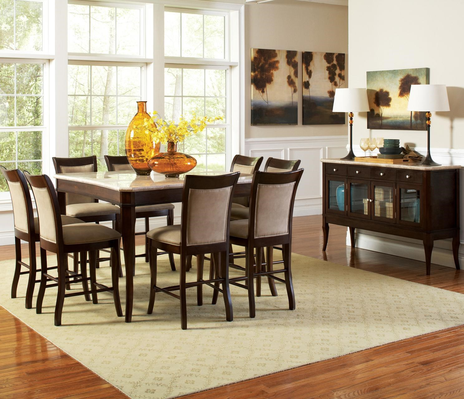 Gentil Steve Silver Marseille Casual Dining Room Group : Northeast Factory Direct  : Casual Dining Room .