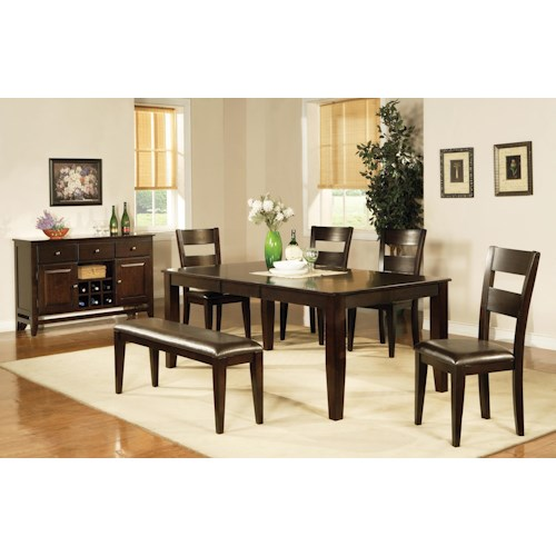 Vendor 3985 victoria casual dining room group becker for Dining room tables victoria