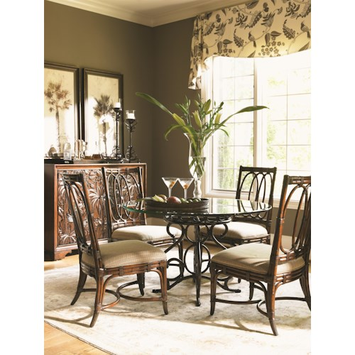 casual dining room groups tommy bahama home landara dining room group