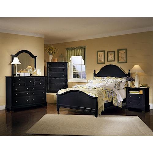 Vaughan Bassett Cottage King Bedroom Group Belfort