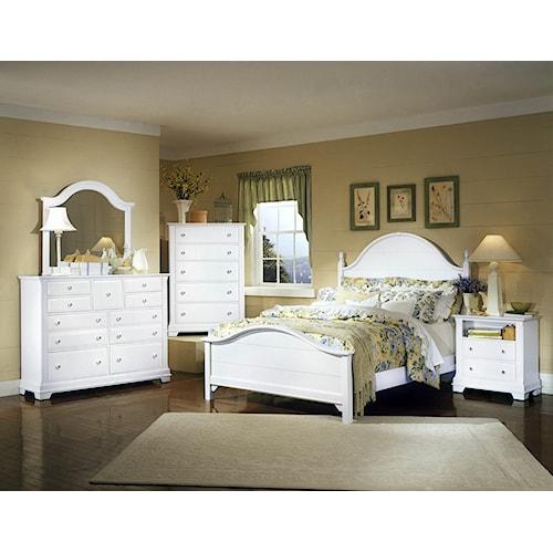 home bedroom group vaughan bassett cottage full bedroom group