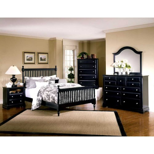 Vaughan Bassett Cottage King Bedroom Group Wayside Furniture Bedroom Groups