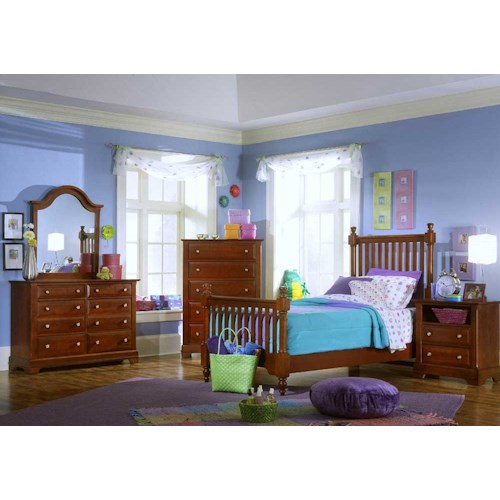 Vaughan Bassett Cottage Full Bedroom Group Value City Furniture Bedroom Groups