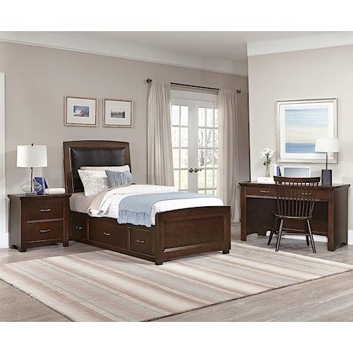 home bedroom groups vaughan bassett transitions twin bedroom group