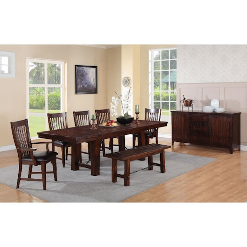 dining room group pilgrim furniture city formal dining room groups
