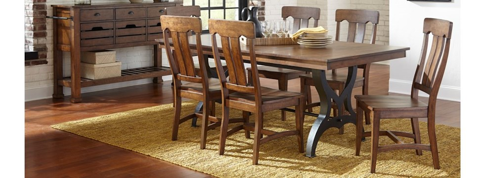 5 Piece Table and Chair Set. Wayside Furniture   Akron  Cleveland  Canton  Medina  Youngstown