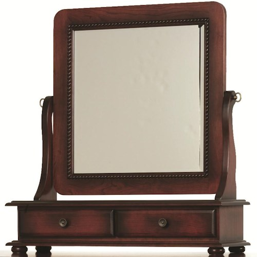 Rotmans Amish Fur Elise Mirror with 2 Drawers