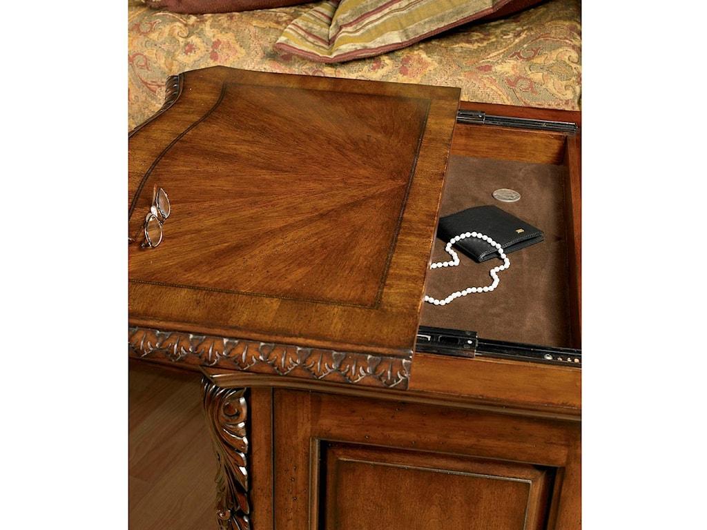 Hidden Sliding Drawer