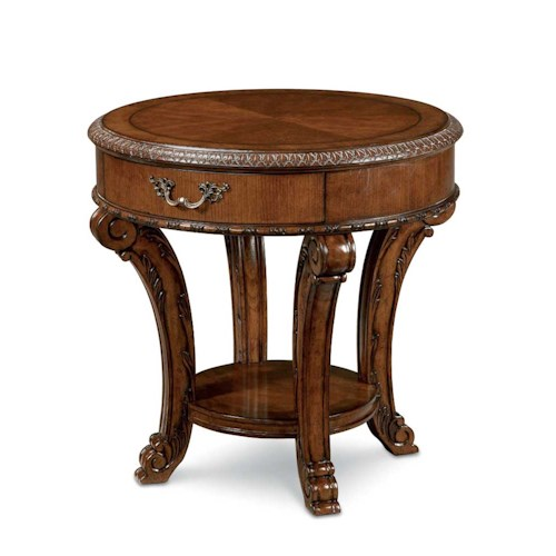 A.R.T. Furniture Inc Old World Round End Table