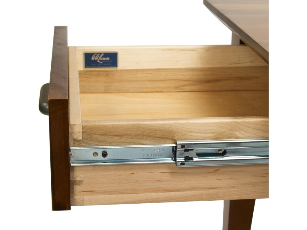 Aa Laun Coffee Table Aa Laun Arbor Contemporary Maple End Table With Slatted Shelf And
