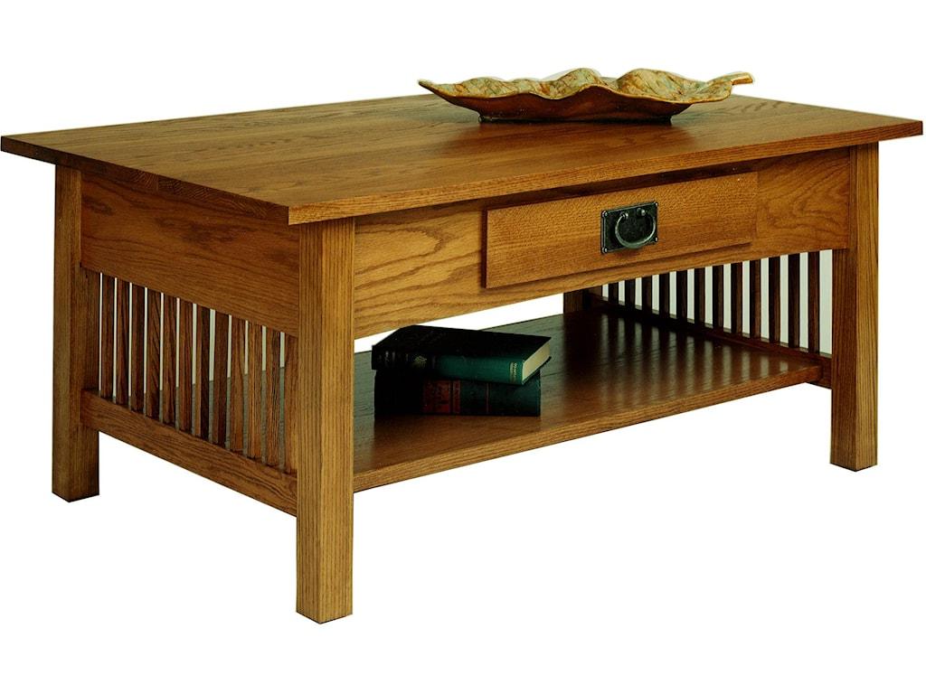 Aa Laun Coffee Table Aa Laun Workbench Classics Rectangular Cocktail Table With Drawer