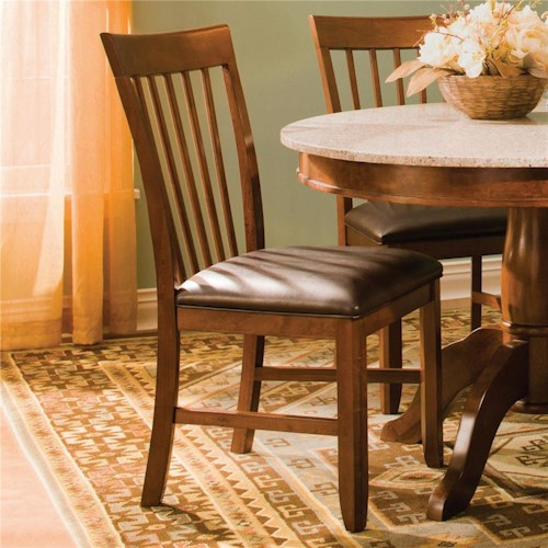 AAmerica Granite-JV Slatback Side Chair