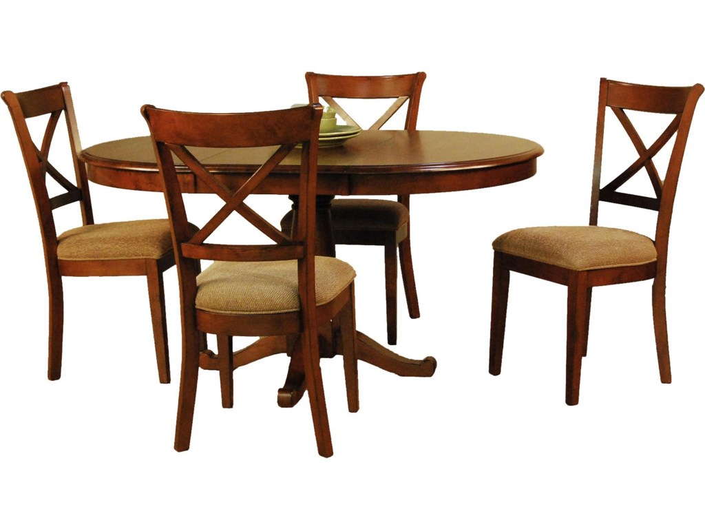 Shown with X-Back Side Chairs