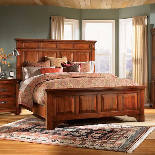 AAmerica Kalispell King Mantle Bed