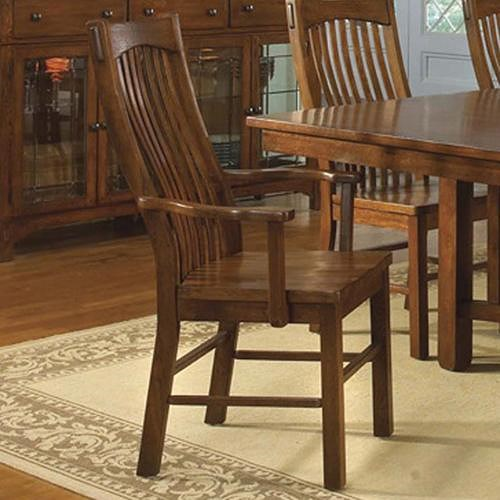 AAmerica Laurelhurst Slatback Arm Chair
