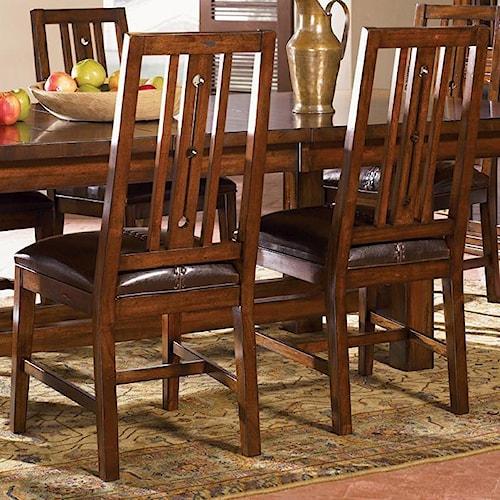 AAmerica Mesa Rustica Dining Side Chair
