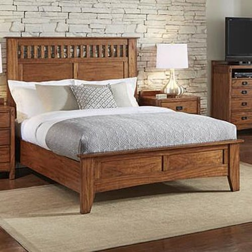 AAmerica Mission Hill California King Low Profile Panel Bed
