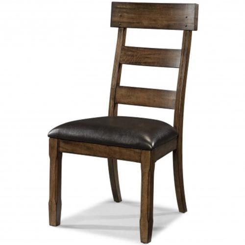 AAmerica Ozark Plank Side Chair with Arrow Feet