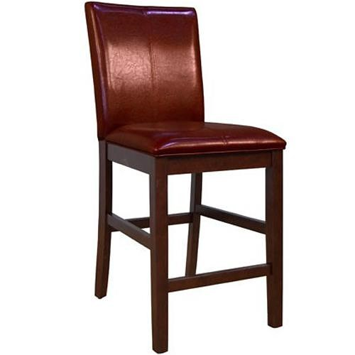 AAmerica Parson Chairs Bar Stool with Curved Back