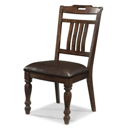 AAmerica Phinney Ridge Estate Slat Back Side Chair