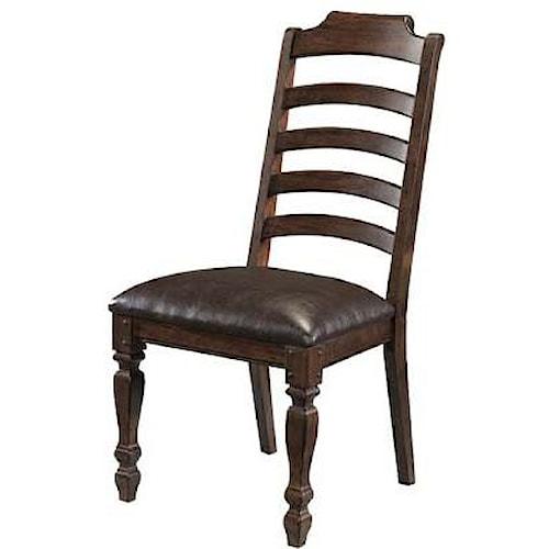 AAmerica Phinney Ridge Ladder Back Side Chair