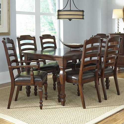 AAmerica Phinney Ridge 7 Piece Dining Table Set