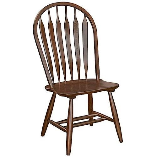AAmerica Roanoke Arrowback Dining Side Chair