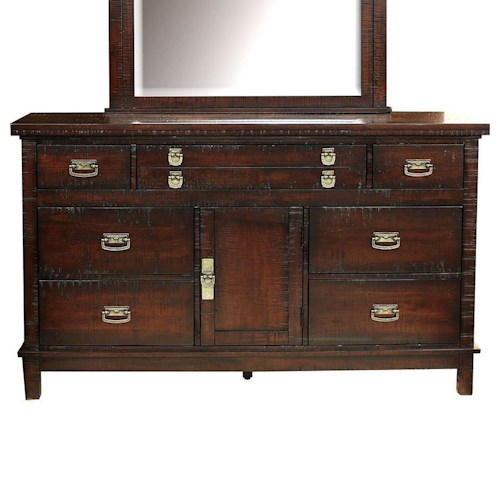 AAmerica Suncadia Dresser with 8 Drawers