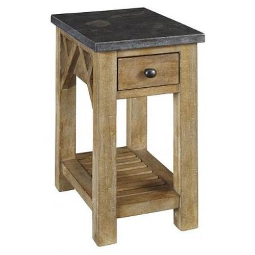 AAmerica West Valley Rustic Casual Chair Side Table