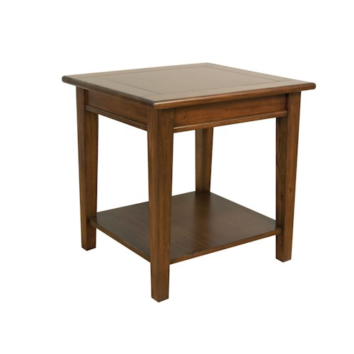 AAmerica Westlake End Table With Shelf