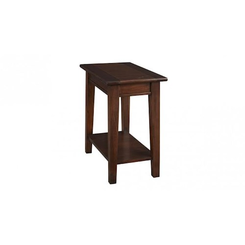 AAmerica Westlake Chairside Table with Shelf