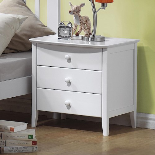 Acme Furniture San Marino 3 Drawer Nightstand