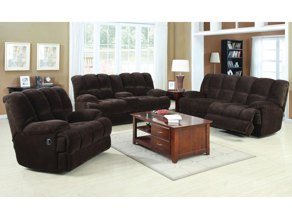 Shown with Coordinating Collection Sofa and Rocking Recliner