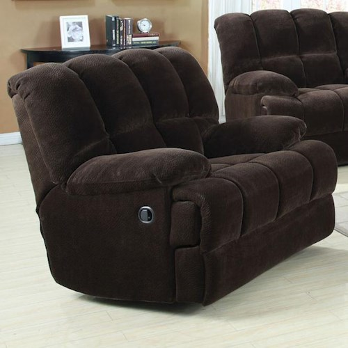 Acme Furniture Ahearn Casual Rocker Recliner