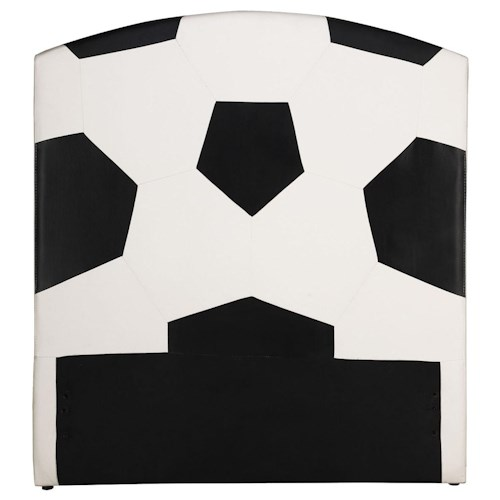 Acme Furniture All Star Sports Themed Soccer Twin Headboard
