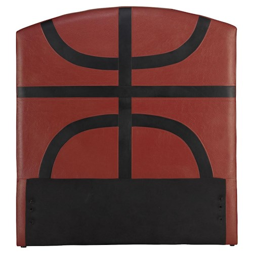 Acme Furniture All Star Sports Themed Basketball Twin Headboard