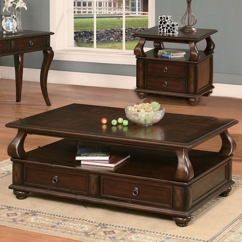 Acme Furniture Amado Regal Espresso Coffee Table