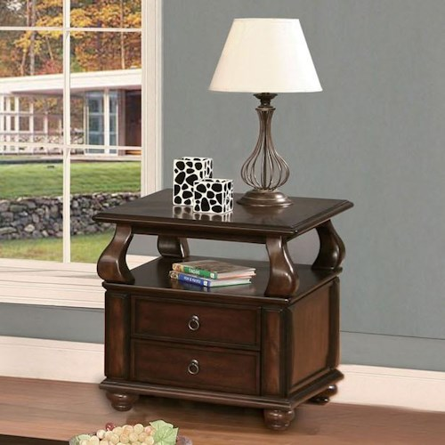 Acme Furniture Amado Regal Espresso End Table