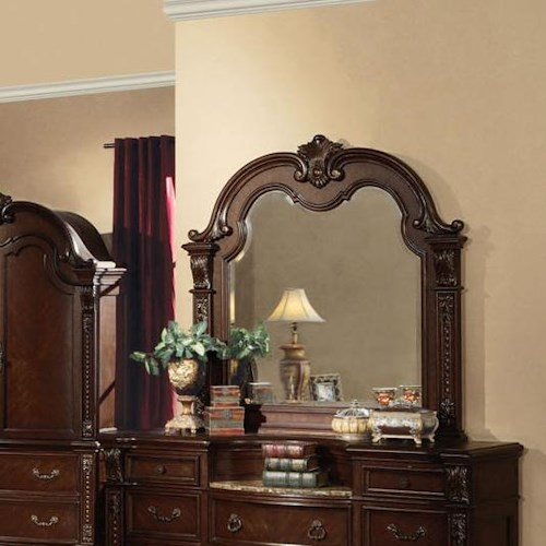 Acme Furniture Anondale Traditional Dresser-top Mirror