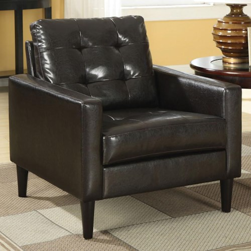 Acme Furniture Balin Accent Chair in Contemporary Style