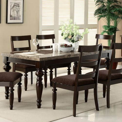 Acme Furniture Bandele Casual Dining Table