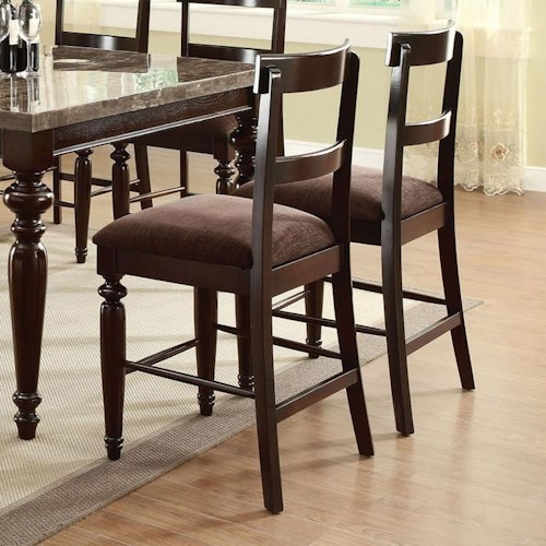 Acme Furniture Bandele Counter Height Dining Chair
