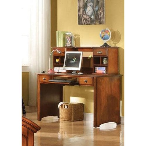 Acme Furniture Brandon Desk and Hutch Combo
